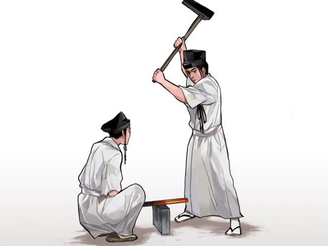 日本刀を作る