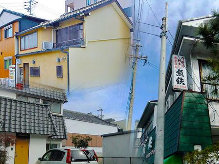 106_三河武士のやかた家康館近くの飲食店