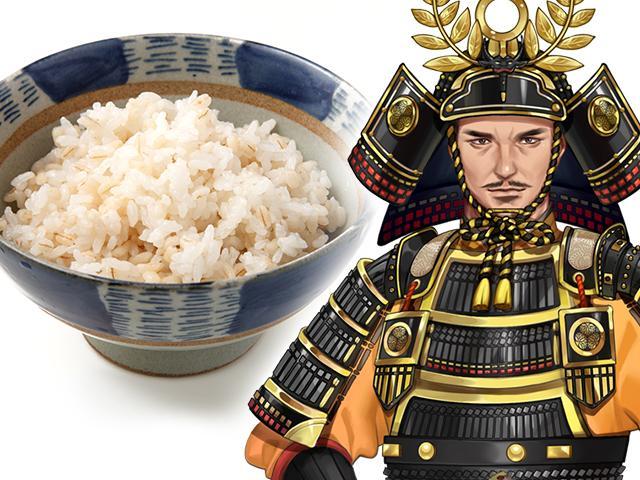 麦飯・徳川家康
