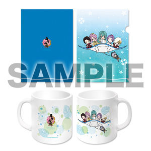 (5b 【NEW】『刀剣乱舞-ONLINE-ぽてだん』カラーマグカップ(海ver)