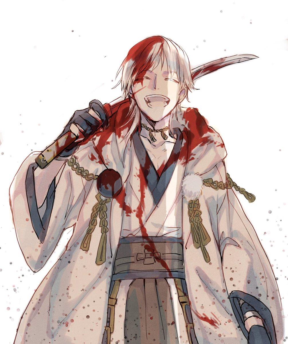 刀剣乱舞 返り血だらけの鶴丸さん とある審神者 とうらぶ速報 刀剣乱舞まとめブログ