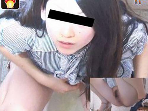 過激ドッキリ!トイレでおしっこシーシーしてる女子にワザと盗撮をバラしてみた結果ww