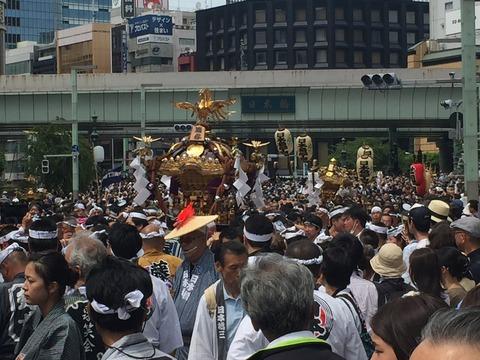 赤坂天王祭