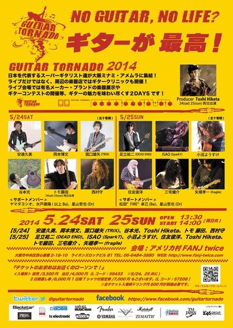 ギタートルネード2014