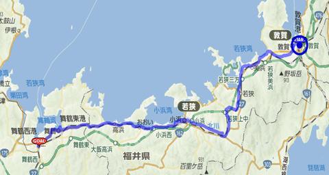 敦賀から西舞鶴