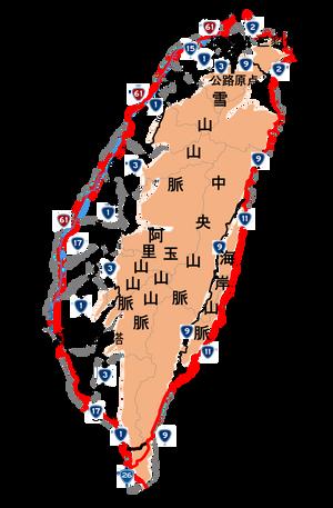 2019環島走行経路
