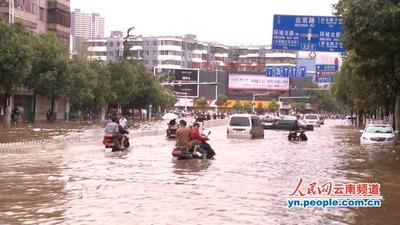 昆明洪水11