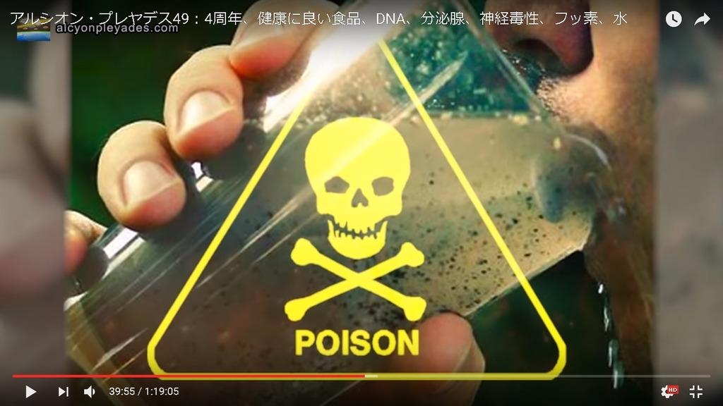 毒 飲料水 フッ素AP49