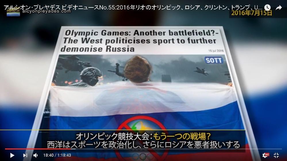 オリンピックロシア悪者扱いAP55