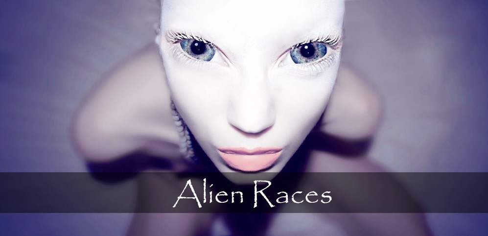 Alien whitegirl