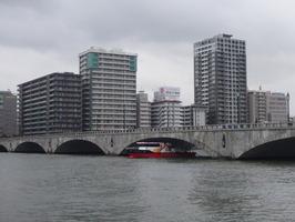 萬代橋通過テスト (1)