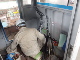 操舵室電気工事