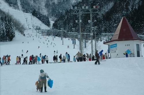 らいちょうバレー ゴンドラ スキー場