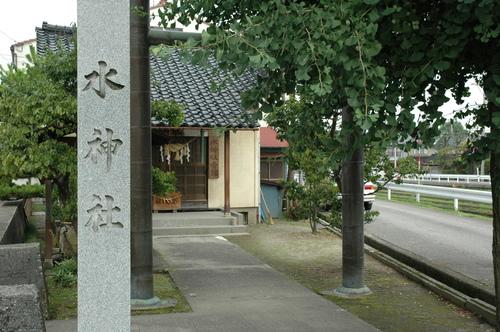 富山市 水神社 いたち川