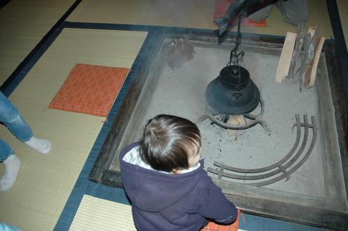 富山市 囲炉裏
