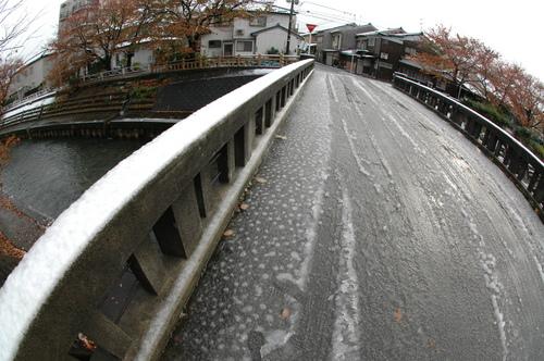 雪 初雪 11月20日