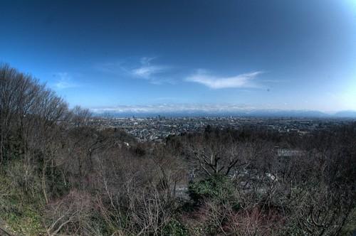 富山市 富山平野 立山連峰 toyama