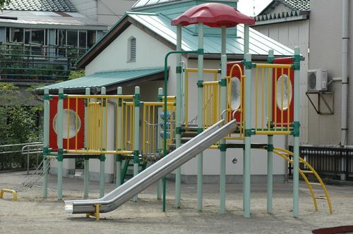 富山市 公園 滑り台 大泉町