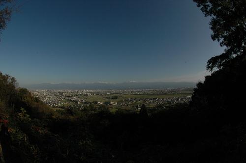 立山連峰 富山市 剣岳