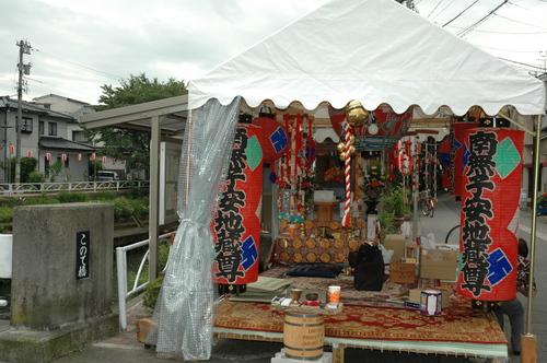 富山市 2009 地蔵祭り 灯篭流し お盆