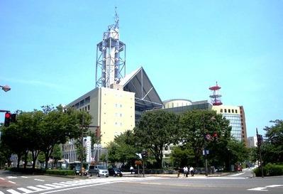 富山市役所展望塔1