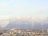 展望塔から立山連峰