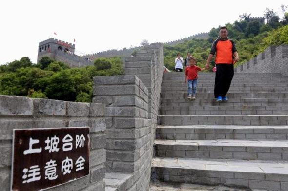 【中国】今度のパクリは「万里の長城」!6