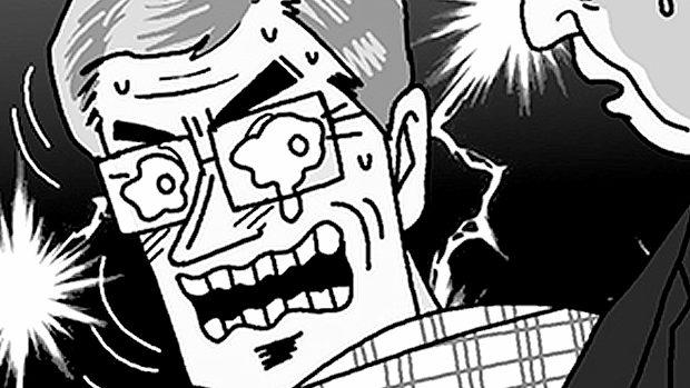 【韓国】GSOMIA破棄回避で早速ムン大統領のパロディ漫画