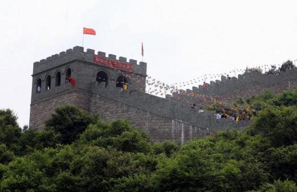 【中国】今度のパクリは「万里の長城」!1