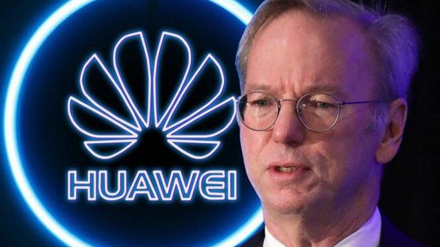 元GoogleのCEO「ファーウェイの通信機器を通じ中国へ情報流出『間違いない』」