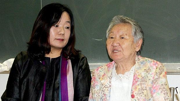 【韓国】支援団体の理事長、元慰安婦のおばあさん
