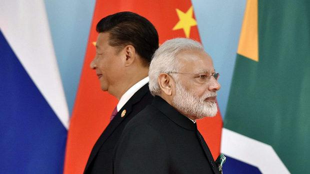 インド・モディ首相、中国・習近平主席