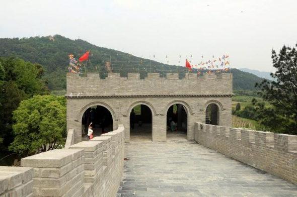 【中国】今度のパクリは「万里の長城」!5