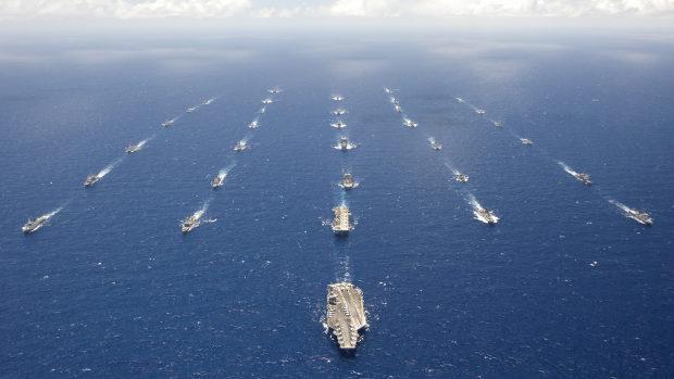 【台湾】国防相「米海軍主催の環太平洋合同演習(リムパック)への参加を目指す!」