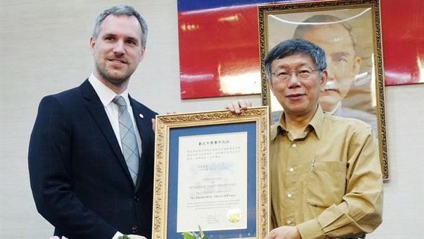 【台湾】チェコ首都プラハが台北と姉妹都市提携を議会が可決!