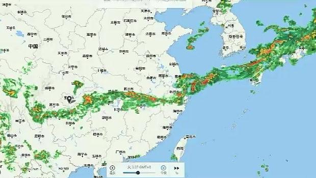 日本に洪水をもたらした雨雲、どう見ても中国大陸から流れてきている!