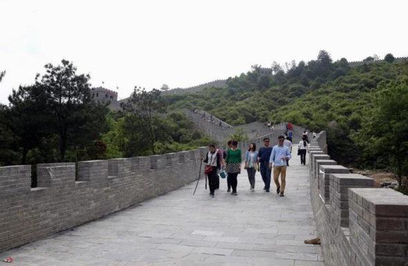 【中国】今度のパクリは「万里の長城」!3