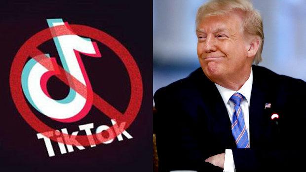 【米国】トランプ大統領、中国系動画アプリ「TikTok」の利用を禁止すると表明!
