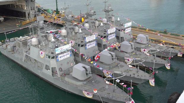 【韓国】海軍の次世代新型高速艇4隻全てがエンジン故障!