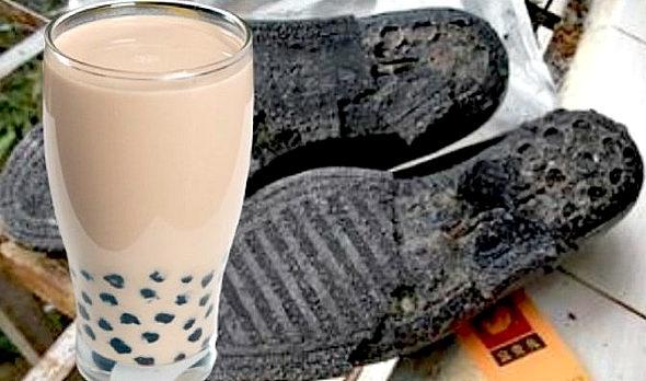 中国、タピオカミルクティーの「偽タピオカ」...材料は革靴や古タイヤ2