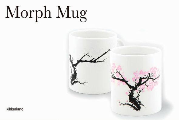 お湯を注ぐと「桜が咲く」マグカップ 「Morph Mug」1
