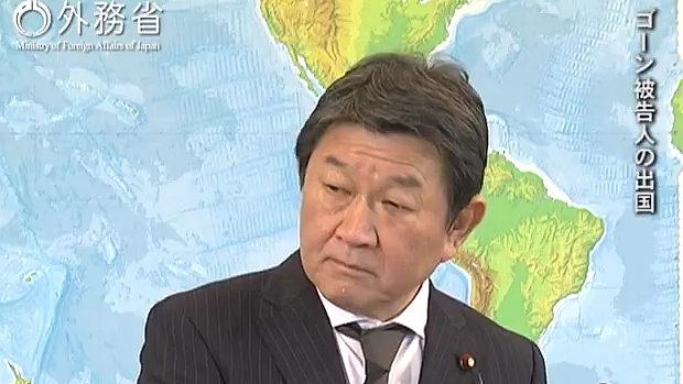 茂木外相、記者の誘導質問に「そう理解されては困ります。」と誘導に乗らず!