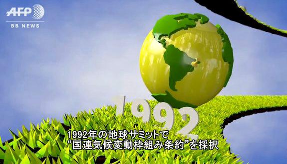 気候変動会議/COPの歴史