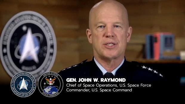 米宇宙軍のジョン・レイモンド司令官