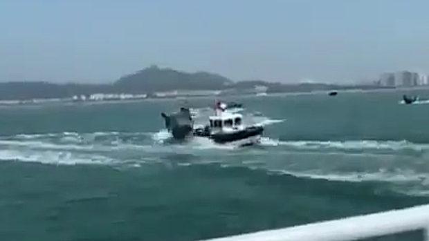 【台湾】巡視船が中国漁船から体当たり攻撃される!中国ネット「よくやった!」