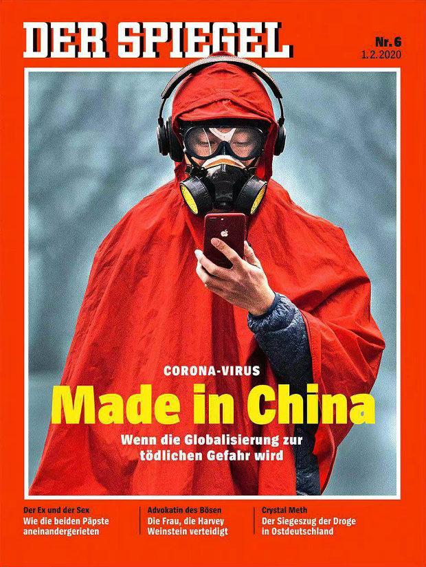 【中国】今度はドイツ紙、表紙に「コロナウイルス Made in China」中国大使館が激怒-2