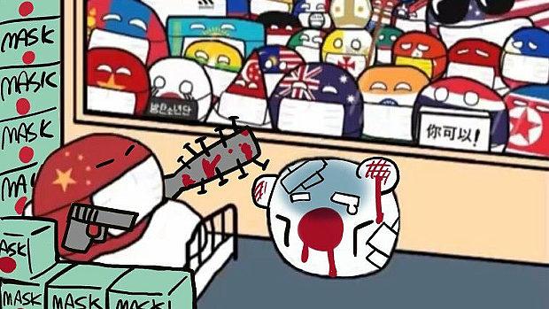日本さん、海外から見たらこんな感じ。もう描かれ放題!バカを見る展開