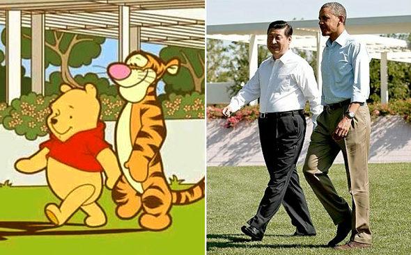 【中国】政府が「クマのプーさん」を検閲!ネットで習近平に似ている3