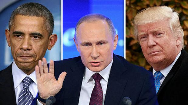 プーチン、オバマとトランプ