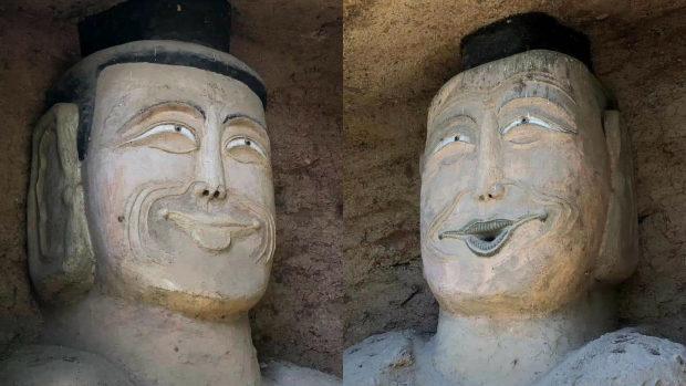 【中国】頭部が破壊された仏像、修復され完成した顔がヤバい!とネットで話題に